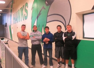 Four years of football for the senior guys