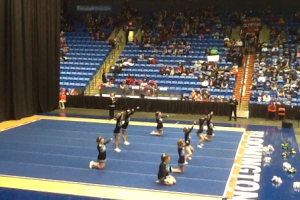 Meridian high school competitive cheerleading