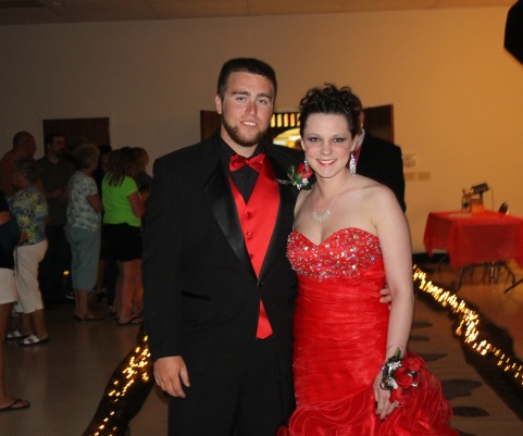 Kaitlyn Edwards and her date