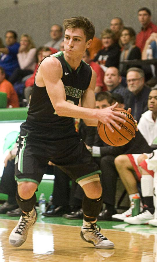 Bakerman. Drake Baker ready to make the entry pass. Baker went on to shoot lights out in that game. Statistician Troy Damery said,