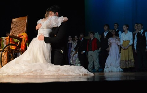 Rising and Growing. Over the past two years, Mrs. Moore has been rebuilding Meridian's drama program. The new drama program has performed Grease, High School Non-Musical, and Les Miserables.