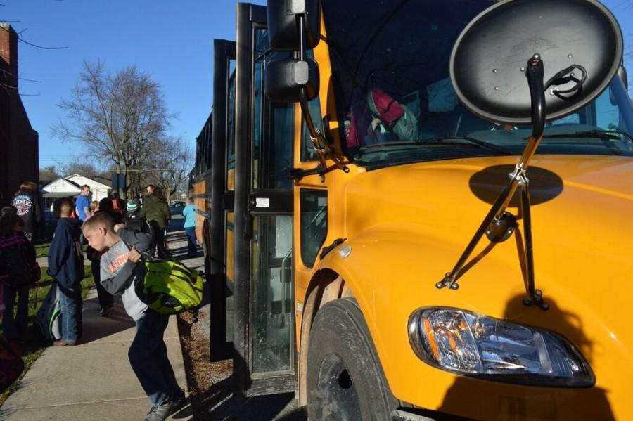 Driving to victory- Meridian leases its own fleet of buses