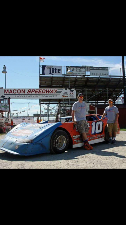"""Damery wins! Luke and Blake Damery ready to hit the track and follow in their dad's footsteps to become legendary Macon racers. """" When I'm on the track it is just me and the track and nothing else,"""" says Damery."""