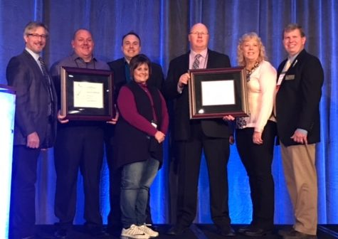 What an honor. Meridian High School is given the Award of Distinction at the School Board Convention. This was a huge honor for the communitys hard work. [This] shoud be a pat on the back for the community that made it happen, says Meridian superintendent Mr. Brue.