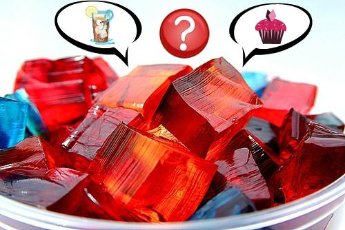 Jell-o: liquid or solid?