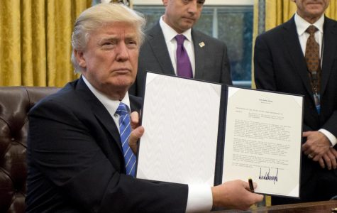 It's official. President Trump shows the executive order on January 27. This order has already affected the U.S.