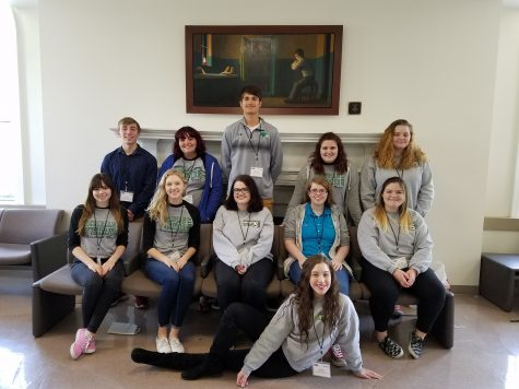 Meridian lands journalism success at sectionals