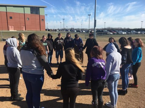 Meridian students walk out