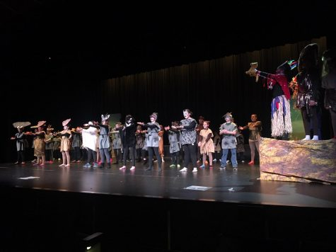 The circle of life! The Meridian Middle School Drama performs their rendition of The Lion King Jr.  The show premiers on Friday, March 8 at 7 p.m.