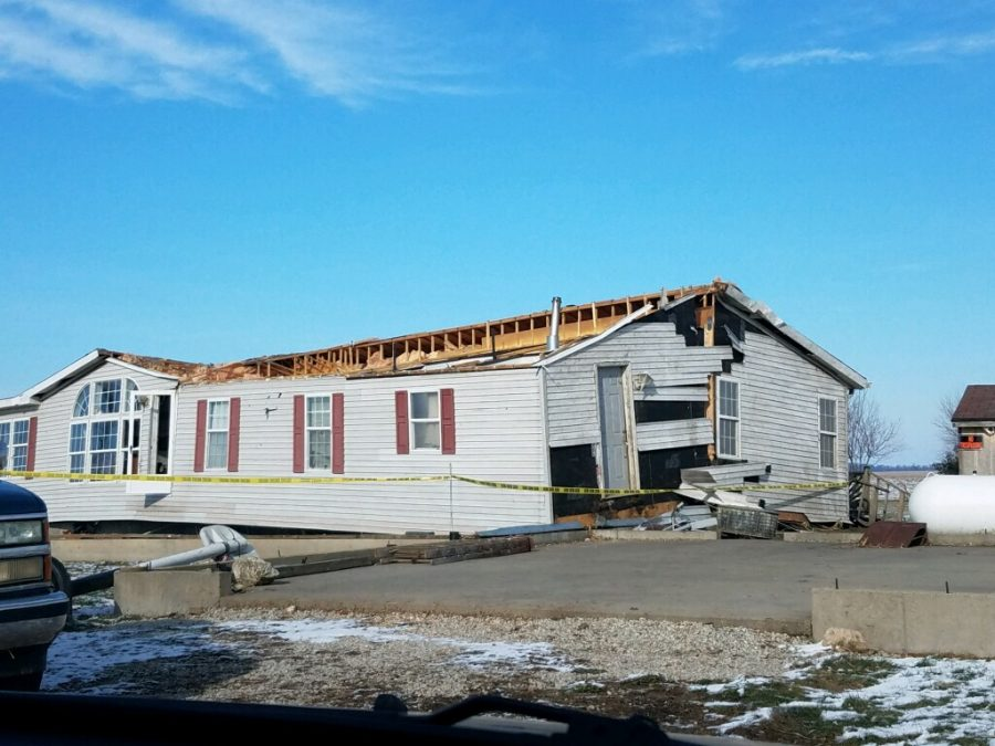 Gone.+The+Mendenhall+home+was+destroyed+during+the+tornado+on+December+1%2C+2018.+The+house+was+taken+off+its+foundation%2C+broken+in+half%2C+and+is+missing+parts+of+the+roof.+While+the+home+was+lost%2C+everyone+in+the+family+was+unharmed+and+many+possessions+were+salvaged.+