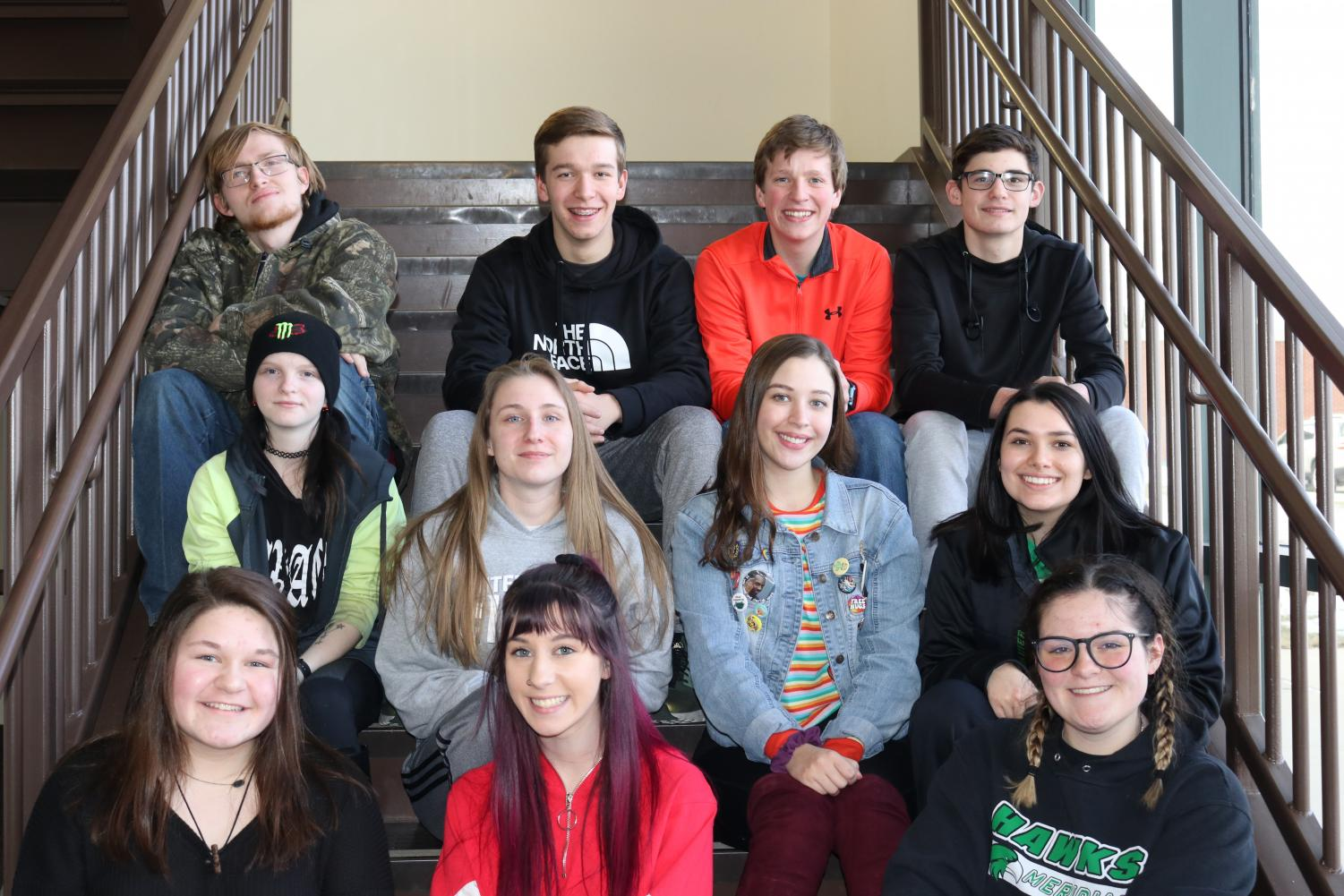 Eighteen students from Meridian High School are preparing to compete at the journalism sectionals on April 13.