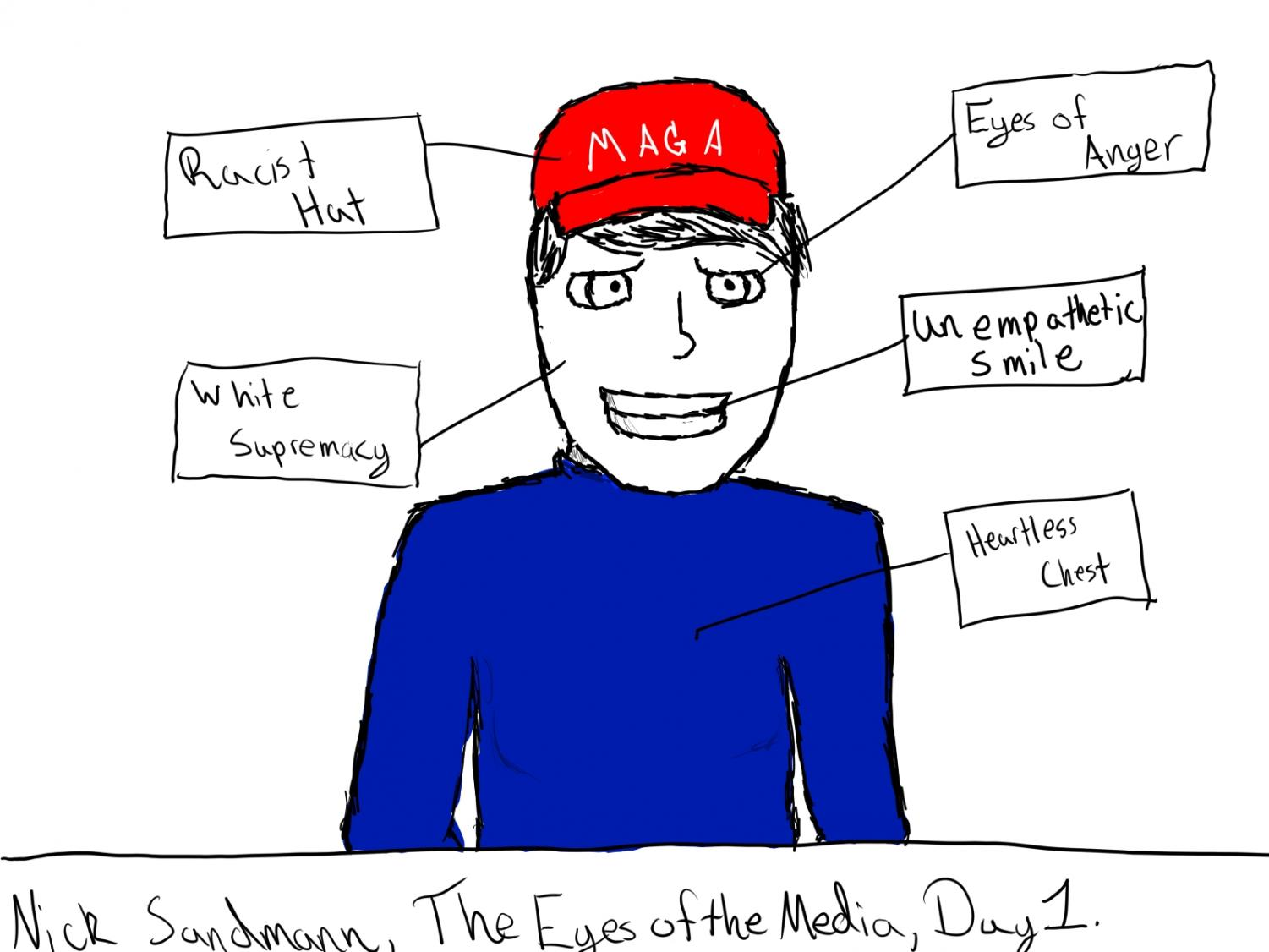 Journalists' coverage of Nick Sandmann and the Covington Catholic boys seemed one-sided...at least on the first day of coverage. As facts unfolded, this initial view of Sandmann was debunked by many in the media.