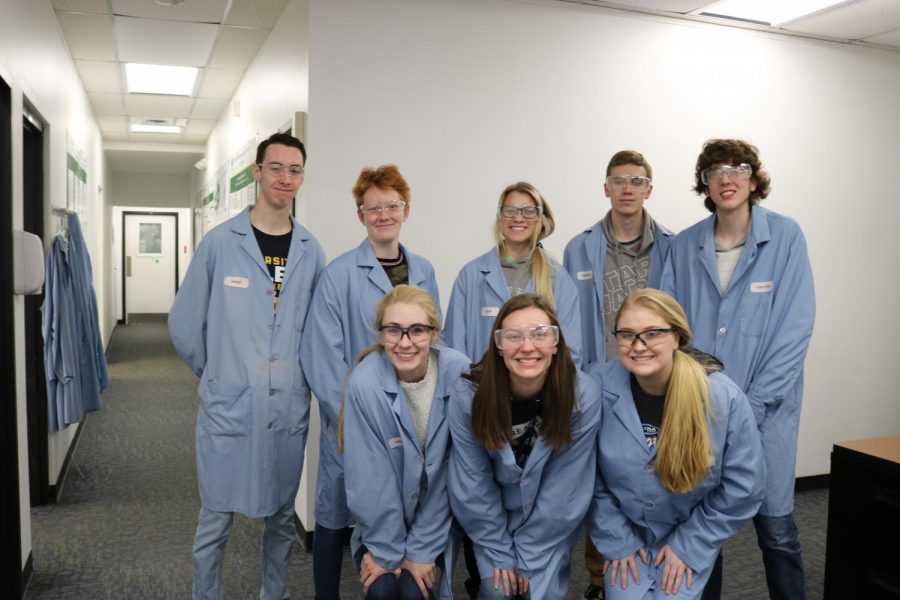 The Genetics/Microbiology students went to Harristown, to a GMO lab to learn about GMOs and how they affect our society.