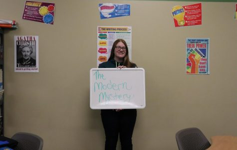 Ms. Dunmire has taught modern mystery for two semesters and this semester is the first time teaching her new course, Modern Mystery 2. The class is for juniors and seniors.