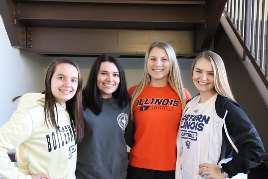 Taylor Pagel, Claire Palmer, Jesse Damery , Zoie Bowman. The juniors at Meridian High School are preparing for their futures by attending college visits, taking ACTs and SATs, and scheduling senior classes.
