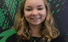 Meridian's foreign exchange student, senior Larou de Jong, will continue to study journalism at university after she returns to the Netherlands.