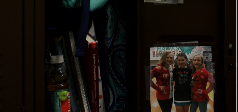 The curious practice of decorating lockers