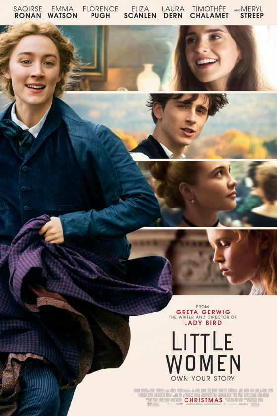 Movie poster for Little Women,  Sony Pictures Entertainment.