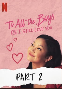 Official movie poster. To All The Boys I
