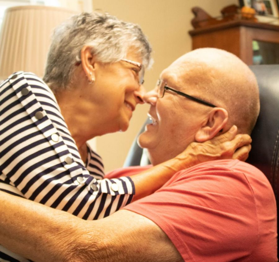 John and Terry Holmgren of Blue Mound, Illinois have been married for 52 years. Between getting engaged a month after they met and moving to Illinois from Minnesota, they have an interesting love story.