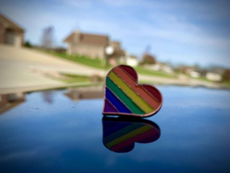 Pins like these are used by the LGBTQ+ community to show their pride.  These types of accessories are popular among the LGBTQ+ youth.