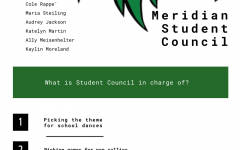 Visual depicting the duties of Student Council.