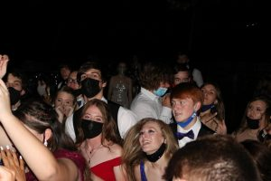Students dance the night away under the stars at the 2021 prom.