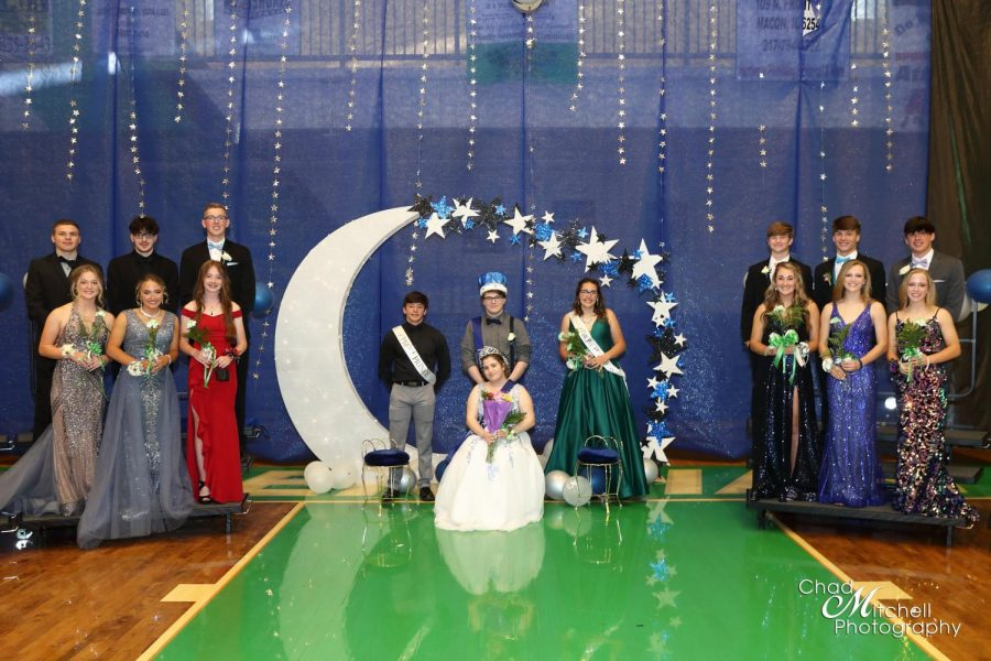 The 2020-2021 Meridian High School Prom Court. This occurred on April 24.